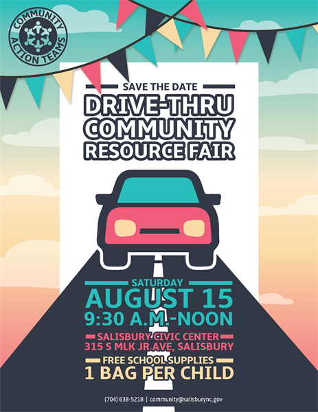 2020 Salisbury Community Resource Fair shifts to drive-thru event for parents, students