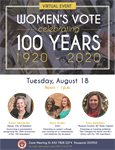 Celebrating the 100th Anniversary of the 19th Amendment - Women's Right to Vote
