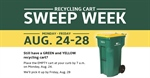 Recycling Cart Sweep Week