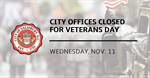 City of Salisbury announces its 2020 Veterans Day operations schedule