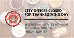 City of Salisbury Provides Operation Schedule for 2020 Thanksgiving Holiday