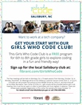 Fibrant, Salisbury bring Girls Who Code Club to the community