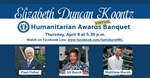 Three to receive 2021 Koontz Humanitarian Award