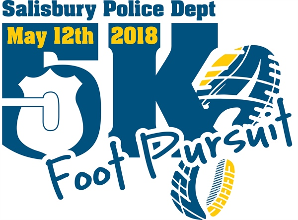 Salisbury Police Dept. Holds First Foot Pursuit 5K