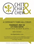 Chit, Chat & Chew Town Halls allow residents to engage City Council