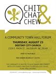 Chit, Chat & Chew Town Hall