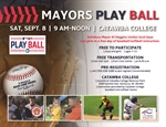 Mayors Play Ball