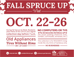 Fall Spruce Up Week
