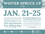 Winter Spruce Up Week