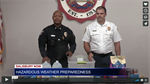 Salisbury Police and Fire Demonstrate How to Prepare for Hazardous Weather