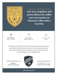 Salisbury Police Department to Host Coffee with a Cop Event on Oct. 3