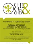 Fourth Chit, Chat & Chew Town Hall to engage South Jake Alexander Blvd. residents