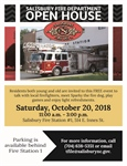 Salisbury Fire Department hosts Fire Station 1 Open House, Saturday, Oct. 20