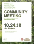 Parks and Recreation Master Plan Open House