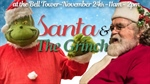 Santa and the Grinch Event moved to inside City Hall