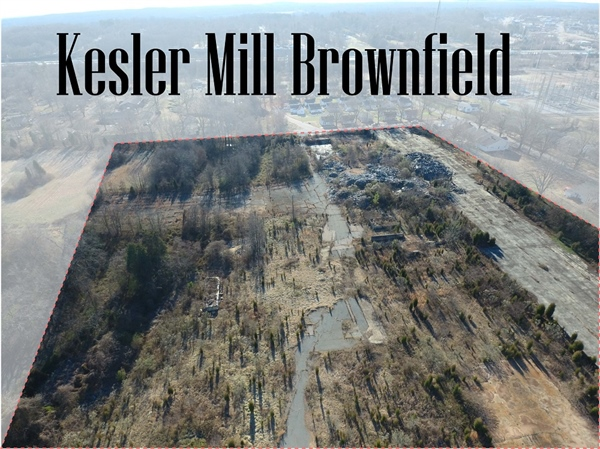 City Submits Brownfields Cleanup Application for Kesler Mill