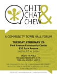 Sixth Chit, Chat & Chew Town Hall to engage Long Street area residents