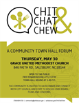 Seventh Chit, Chat & Chew Town Hall to engage US-52 area residents