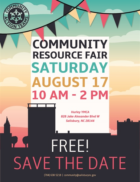 Community Resource Fair set for Saturday, August 17