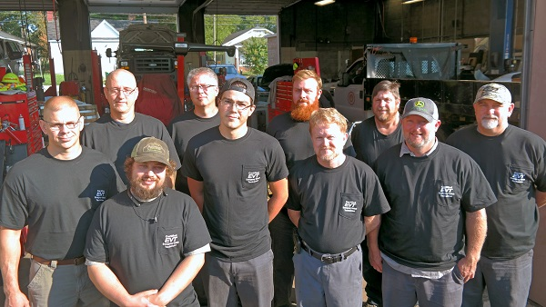Salisbury Fleet Receives Emergency Vehicle Technician Certification