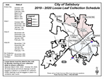 Leaf Collection Map for 2019-20
