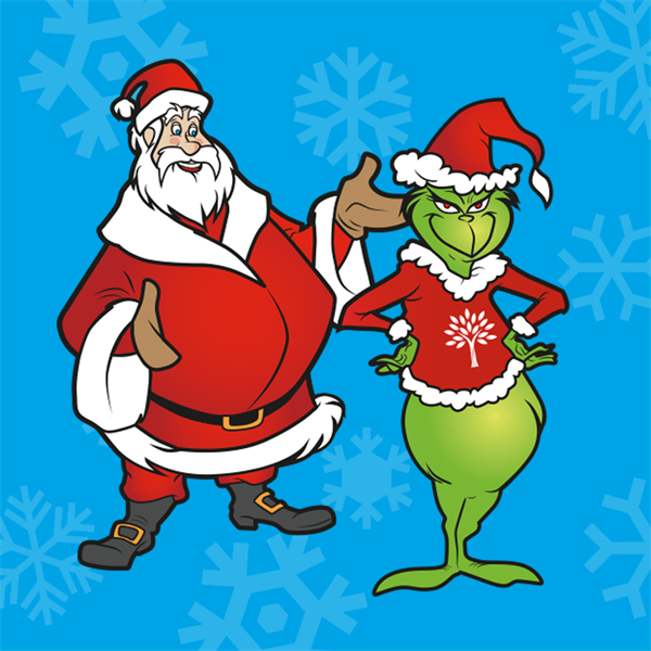 Santa and the Grinch 2019