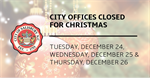 City of Salisbury provides operation schedule for the 2019 holiday season