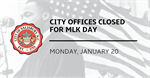 City of Salisbury provides operation schedule for the 2020 Dr. Martin Luther King, Jr. holiday