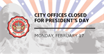 City of Salisbury provides its 2020 Presidents' Day operation schedule