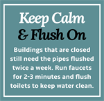Salisbury-Rowan Utilities advises closed buildings to flush pipes