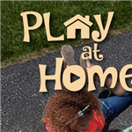 Stay At Home Chalk Ad