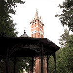 Gazebo Belltower Vintage