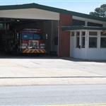 Front view of Fire Station 3