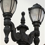 Salisbury Lamp Post Vintage