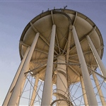 Salisbury Water Tower Vintage