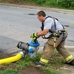 Training Exercise  Fire Hydrant