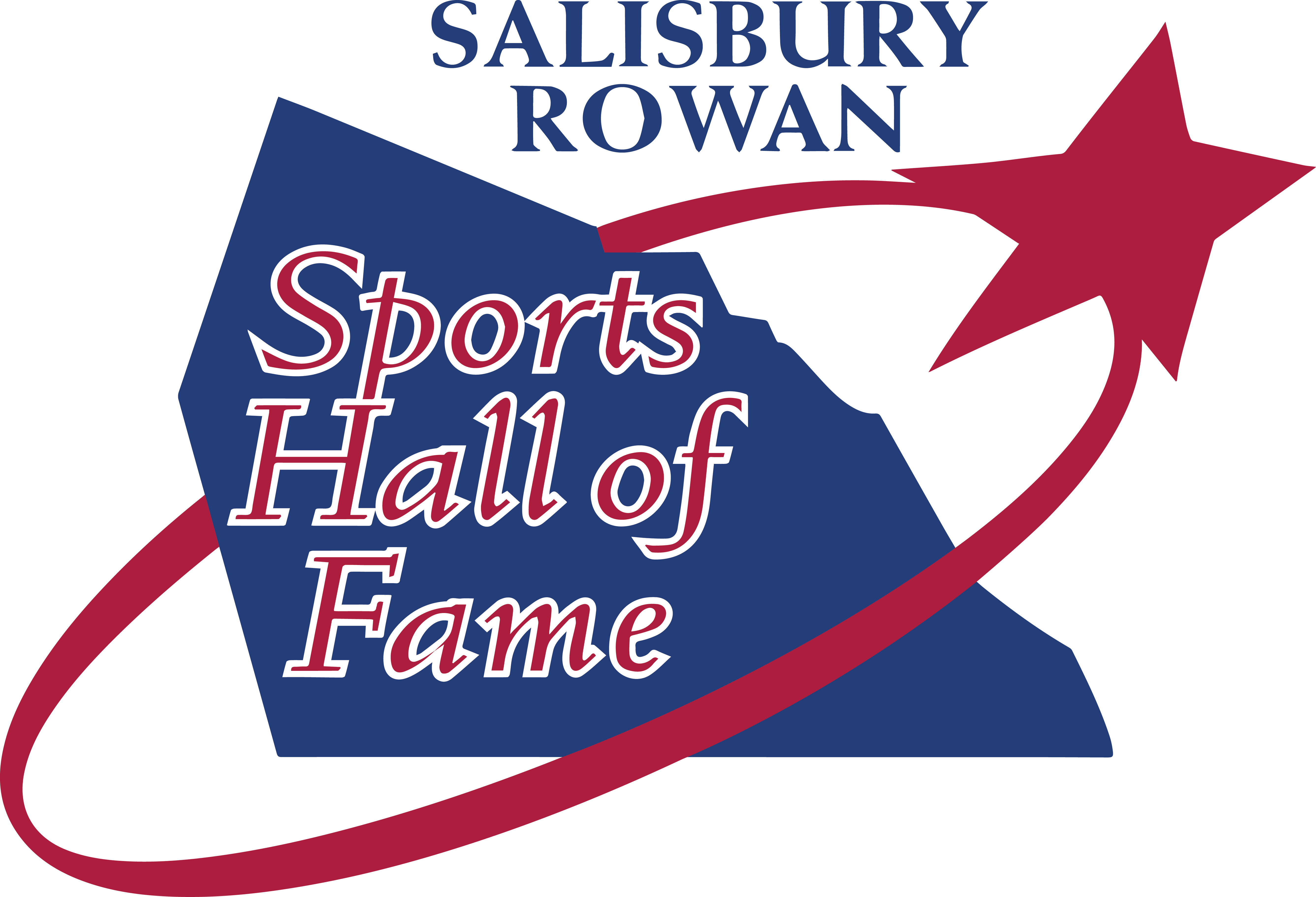 Salisbury-Rowan Sports Hall of Fame Logo
