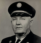 Portrait of Fire Chief C.L. Burkett