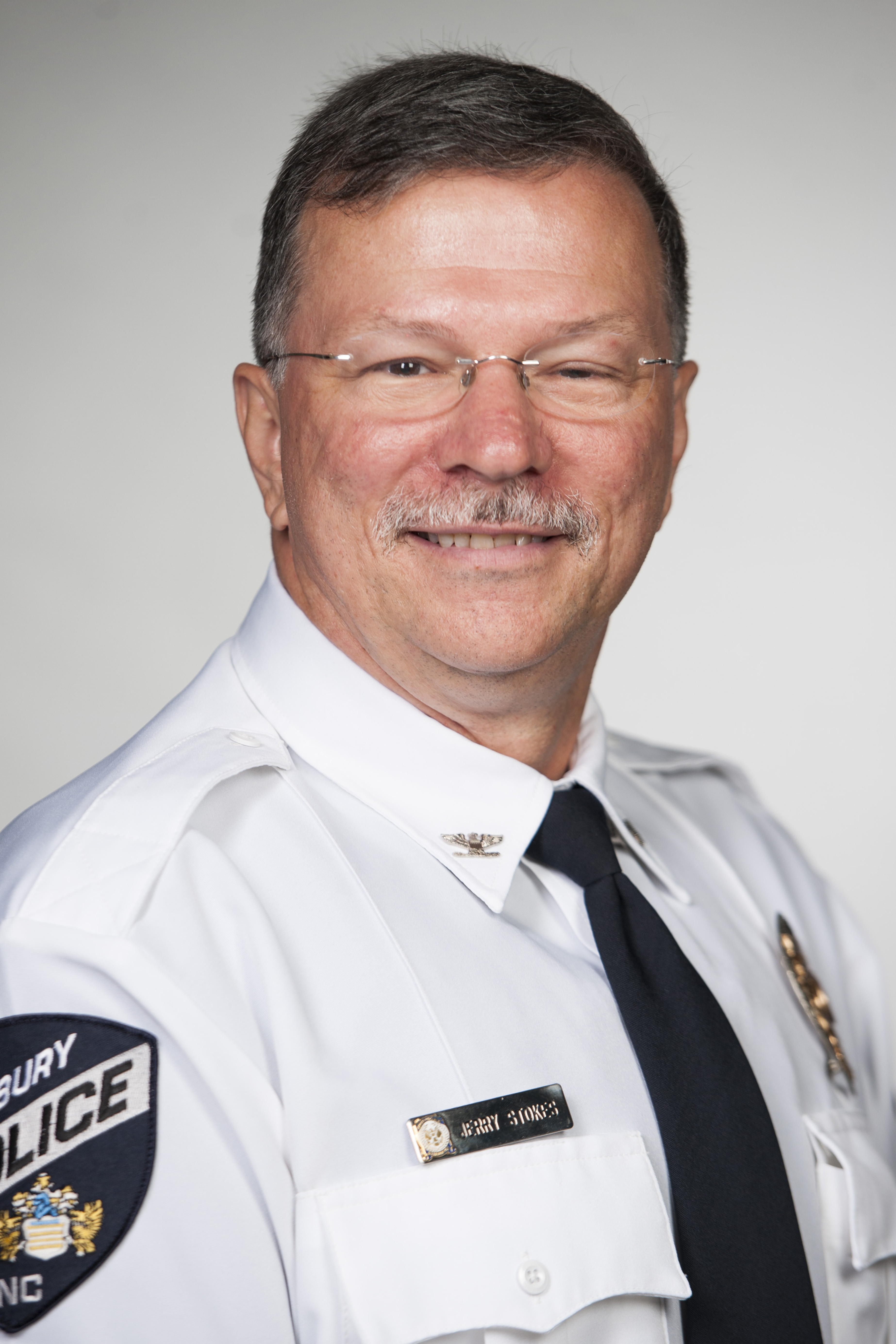 Police Chief Jerry Stokes