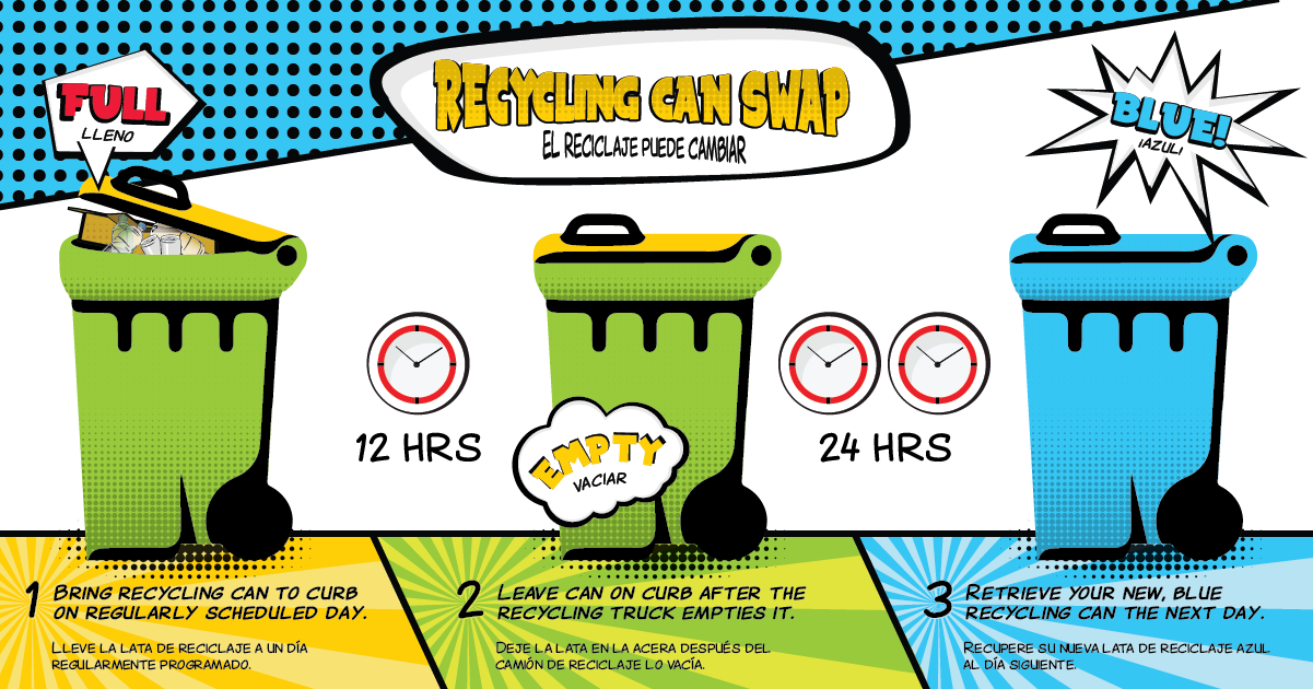 Recycling Can Swap Graphic