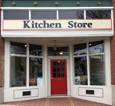 the exterior front of the Kitchen Store