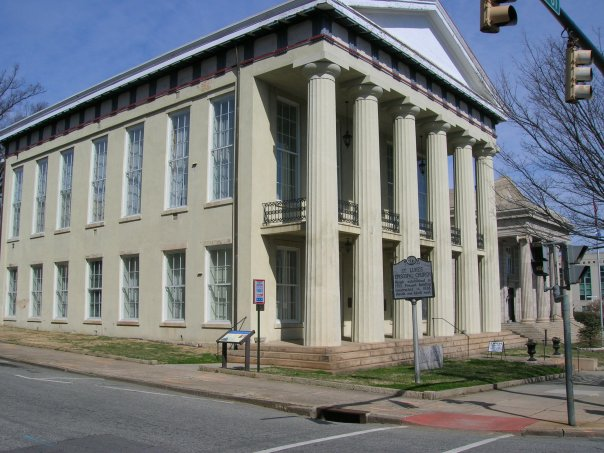 View of the exterior of the Rowan Museum