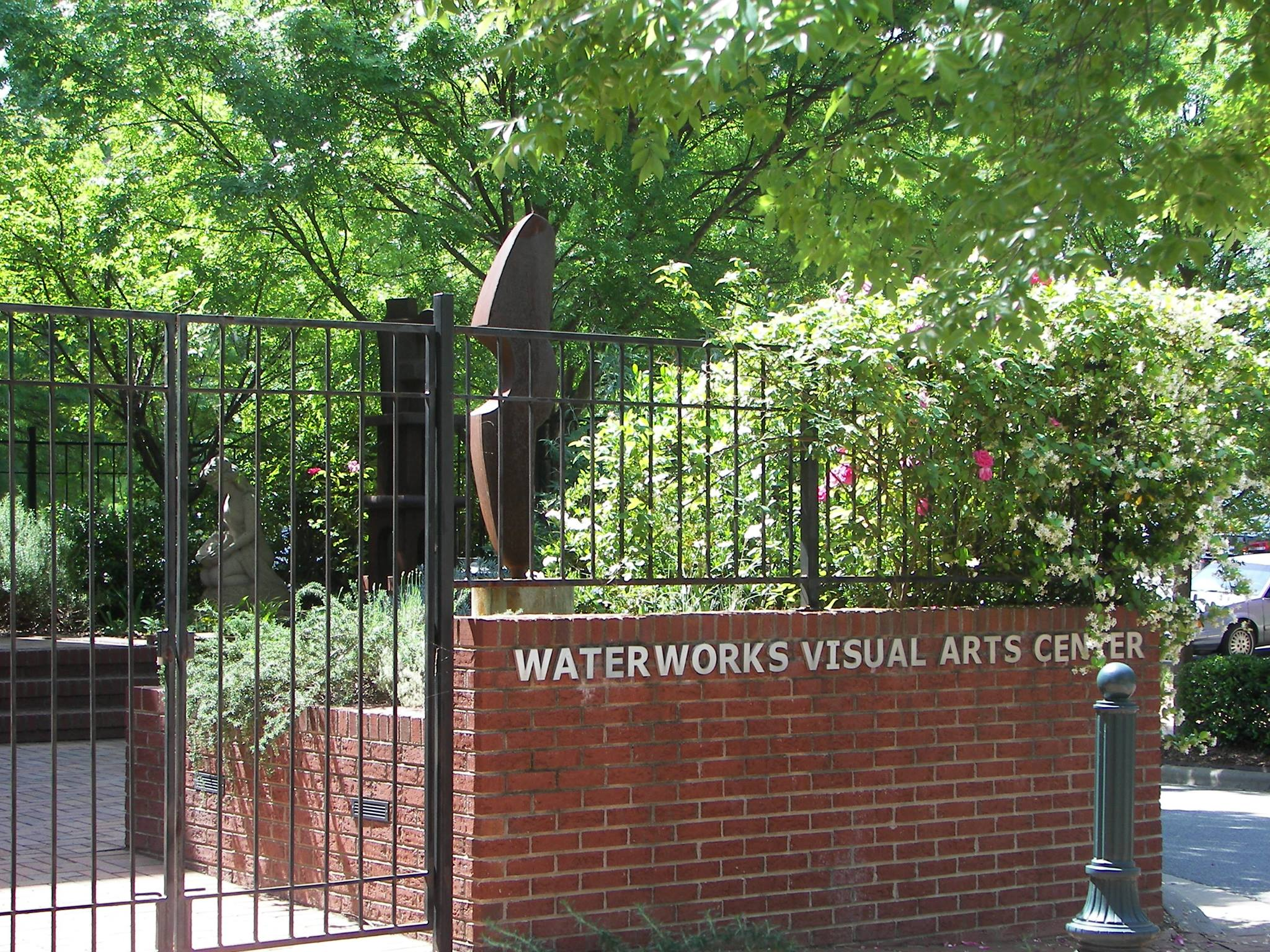 the Waterworks exterior sign
